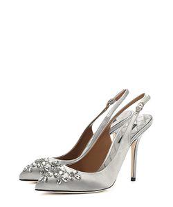 Dolce & Gabbana | Текстильные Туфли Bellucci С Декором