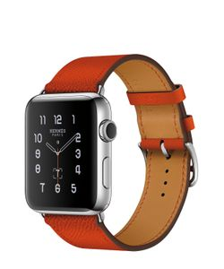 Apple | Watch Hermès Series 2 42mm Stainless Steel Case С Кожаным