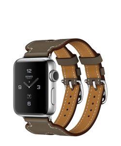 Apple | Watch Hermès Series 2 38mm Stainless Steel Case С Кожаным