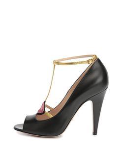 Gucci | Кожаные Туфли Molina С Аппликацией