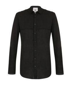 Lost&Found | Рубашка Асимметричного Кроя Из Смеси Льна И Хлопка