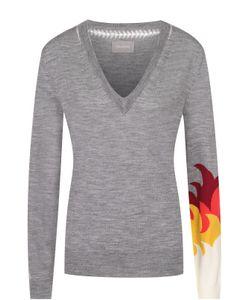 Zadig & Voltaire | Пуловер Прямого Кроя С V-Образным Вырезом Zadigvoltaire