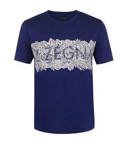 Z Zegna | Хлопковая Футболка С Принтом