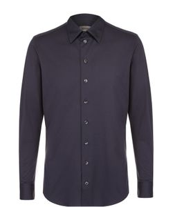 Armani Collezioni | Хлопковая Рубашка С Воротником Кент