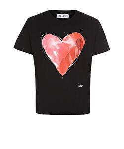 One-T-Shirt | Хлопковая Футболка С Контрастным Принтом