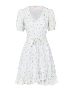 Denim & Supply Ralph Lauren | Мини-Платье С Запахом И Цветочным Принтом