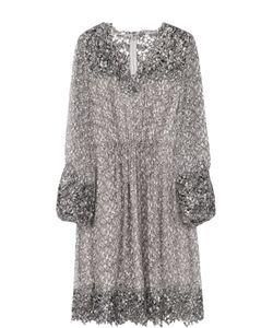 Elie Tahari | Шелковое Платье С Цветочным Принтом