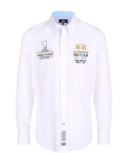 La martina | Хлопковая Рубашка С Воротником Button Down