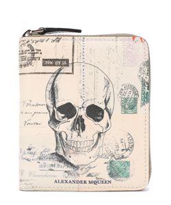 Alexander McQueen   Кожаное Портмоне На Молнии С Отделениями Для Кредитных Карт
