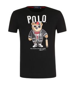 Polo Ralph Lauren   Хлопковая Футболка С Принтом
