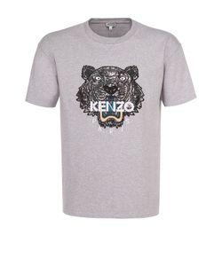 Kenzo | Хлопковая Футболка С Контрастной Аппликацией