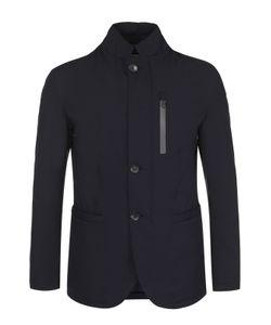 Armani Collezioni | Приталенная Куртка На Молнии С Воротником-Стойкой