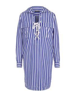Polo Ralph Lauren | Платье В Контрастную Полоску Со Шнуровкой
