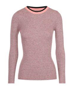 A PIECE APART | Облегающий Пуловер С Круглым Вырезом И Контрастной Отделкой Apiece Apart