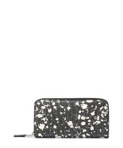 Dior | Текстильное Портмоне На Молнии С Отделениями Для Кредитных Карт И Монет