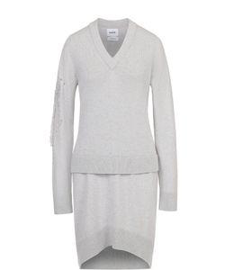 BARRIE | Кашемировое Платье Асимметричного Кроя С Декоративной Отделкой