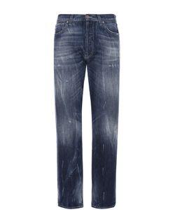 2 Men   Джинсы Свободного Кроя С Потертостями Jeans