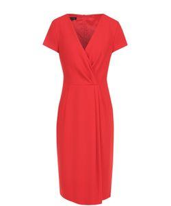 Escada | Платье С Драпировкой И V-Образным Вырезом