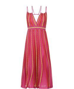 Missoni | Платье С Завышенной Талией И Открытой Спиной M