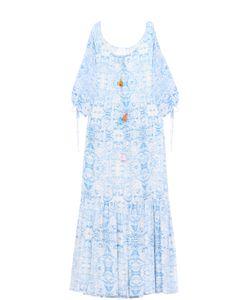 Athena Procopiou   Платье-Макси Свободного Кроя С Укороченным Рукавом