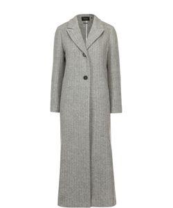 Isabel Marant | Удлиненное Шерстное Пальто С Широкими Лацканами