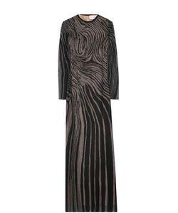 Zuhair Murad | Приталенное Платье-Макси С Длинным Рукавом