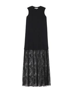 Mcq Alexander Mcqueen | Платье Без Рукавов С Кружевной Полупрозрачной Отделкой Mcq
