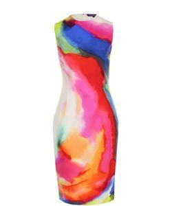 Ralph Lauren | Приталенное Платье-Миди С Принтом