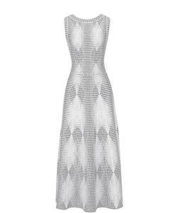 Alaïa | Приталенное Вязаное Платье-Макси