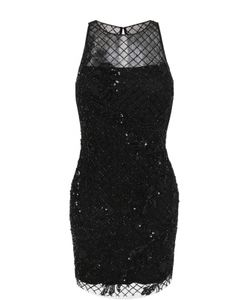 Basix Black Label | Приталенное Мини-Платье С Вышивкой