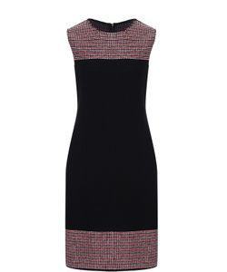 St. John | Платье-Миди С Контрастной Отделкой
