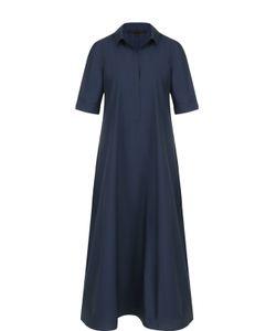 Tegin | Платье-Рубашка Свободного Кроя С Укороченным Рукавом