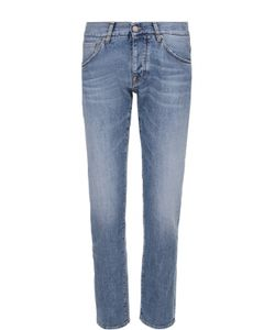 2 Men | Джинсы Прямого Кроя С Контрастной Прострочкой Jeans