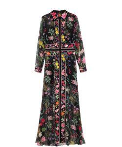 Tadashi Shoji | Платье-Макси С Ярким Цветочным Принтом