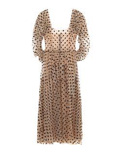 Isa Arfen | Приталенное Платье-Миди В Горох