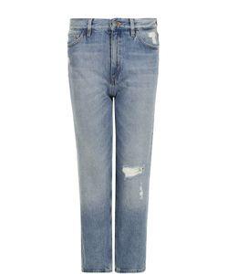 Mih Jeans | Джинсы Прямого Кроя С Потертостями
