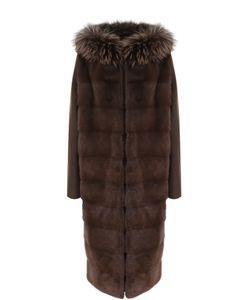 Yves Salomon | Пальто Из Смеси Шерсти И Кашемира С Меховой Отделкой