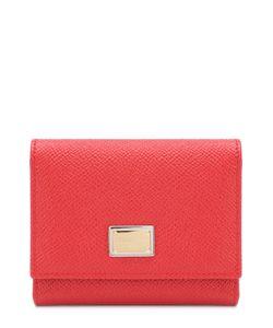 Dolce & Gabbana | Кожаный Кошелек С Логотипом Бренда