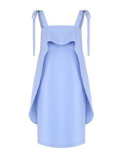 Paul & Joe | Хлопковое Платье С Оборками И Декоративными Бантами Pauljoe