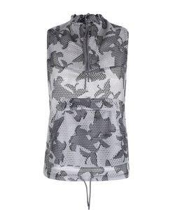 Adidas By Stella  Mccartney | Перфорированный Жилет С Камуфляжным Принтом