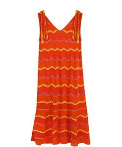 Missoni | Вязаное Платье Свободного Кроя С V-Образным Вырезом M