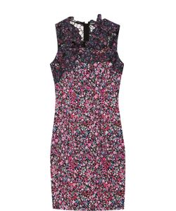 Elie Tahari | Облегающее Мини-Платье С Цветочным Принтом