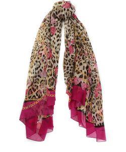 Dolce & Gabbana | Шелковый Шарф С Принтом