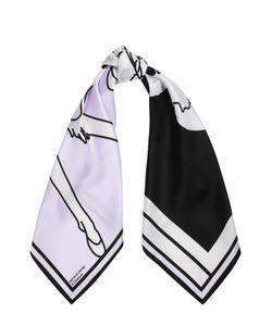 Givenchy | Шелковый Платок С Принтом