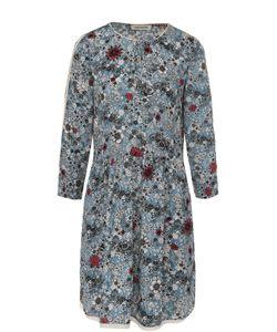 Zadig & Voltaire | Мини-Платье С Цветочным Принтом И Укороченным Рукавом Zadigvoltaire