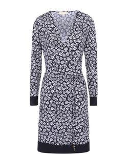 Michael Michael Kors | Платье-Миди С Запахом И Цветочным Принтом