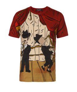 Dolce & Gabbana | Хлопковая Футболка С Принтом