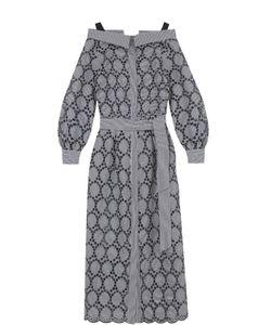 Erika Cavallini | Кружевное Платье С Открытыми Плечами И Поясом