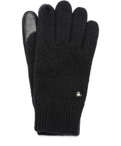 Roeckl | Шерстяные Перчатки С Кожаной Отделкой