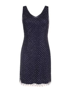 Basix Black Label | Платье С V-Образным Вырезом И Вышивкой Бисером